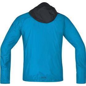 GORE WEAR R7 Windstopper Light Hooded Jacket Men dynamic cyan/black